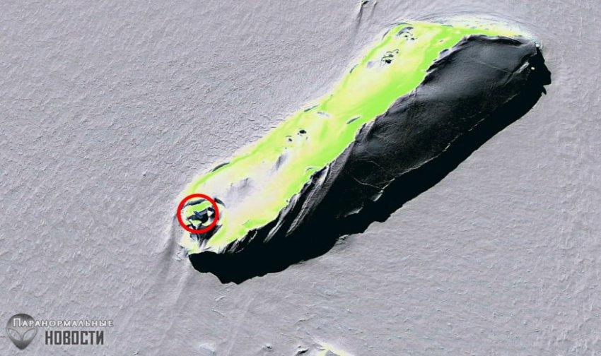 На снимке Антарктиды увидели «взлетающий НЛО» | Загадки планеты Земля | Паранормальные новости