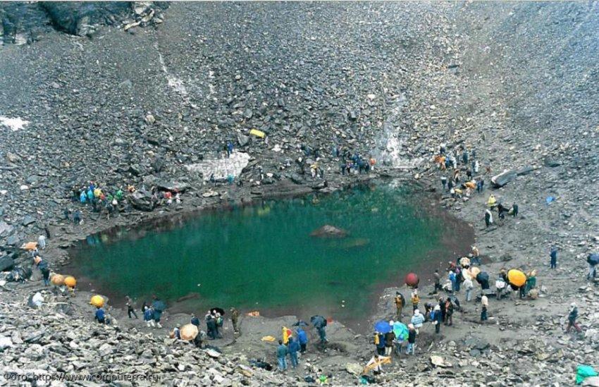 Таинственное гималайское озеро скелетов