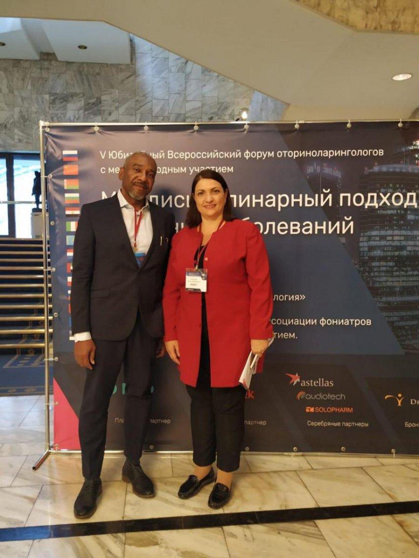 В Москве прошёл V Юбилейный Всероссийский форум оториноларингологов