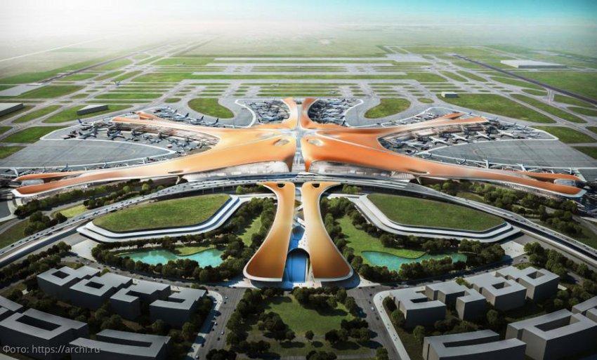 В Пекине официально введен в эксплуатацию международный аэропорт «Дасин»