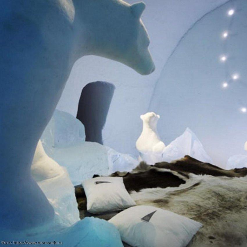 Ледяной дом-отель
