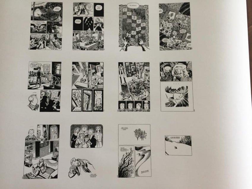 Жители Санкт-Петербурга познакомились с авторскими комиксами на фестивале