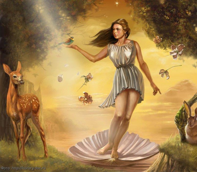 Забытые факты об Афродите - богине любви