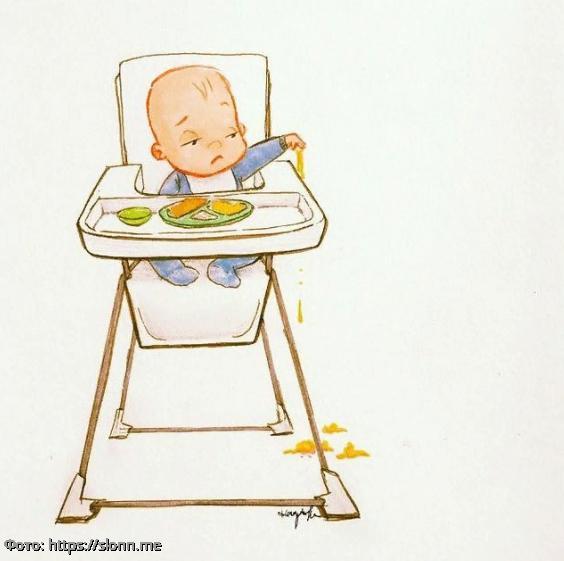 10 картинок о том, как реально выглядит материнство