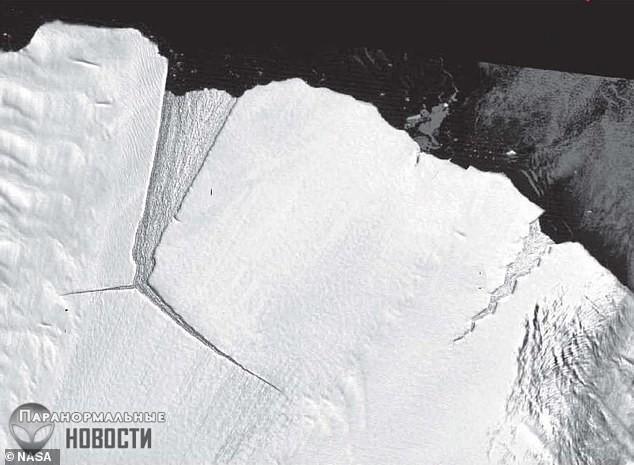 От Антарктиды откололся огромный айсберг по размерам в пять раз больше Мальты