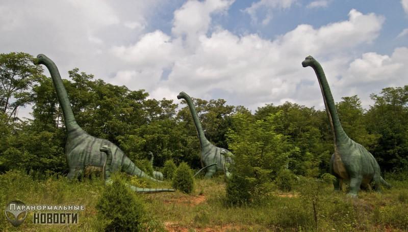 Геолог выяснил почему динозавры вырастали такими большими