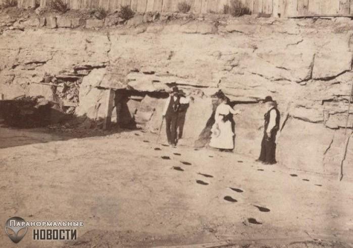 Загадка гигантских человекоподобных следов, найденных в Неваде