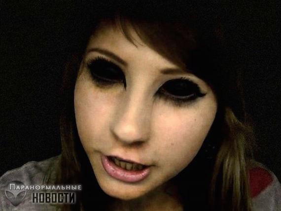 Жуткие встречи с Детьми с Черными глазами в Хэллоуин