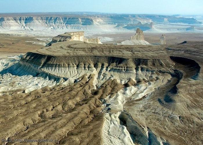 Плато Устюрт: казахское чудо природы