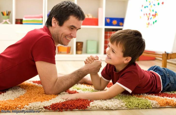 Пять вещей, которые папа может сделать лучше мамы