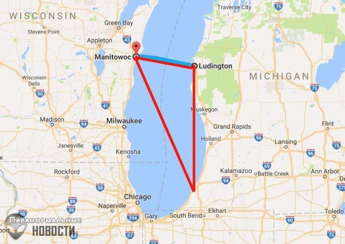 Необъяснимые исчезновения людей в «Мичиганском треугольнике»