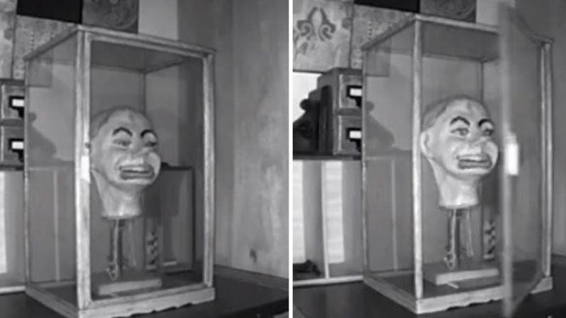 Голова куклы чревовещателя сама открыла глаза и двигала ртом: опубликовано жуткое видео