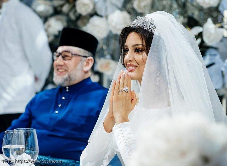 Новый поворот в деле о разводе Оксаны Воеводиной и экс-султана Малайзии