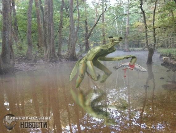 Встречи с инсектоидами - пришельцами, похожими на богомолов