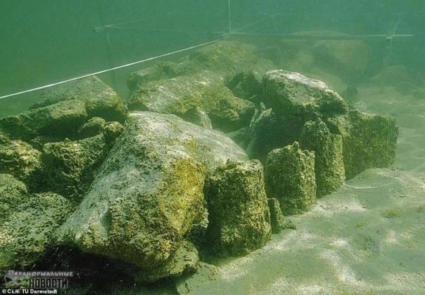 На дне Боденского озера в Швейцарии обнаружили 5500-летние мегалиты