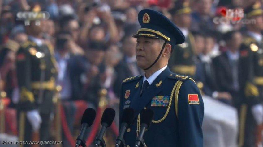 В Китае прошел военный парад в честь 70-летней годовщины образования КНР