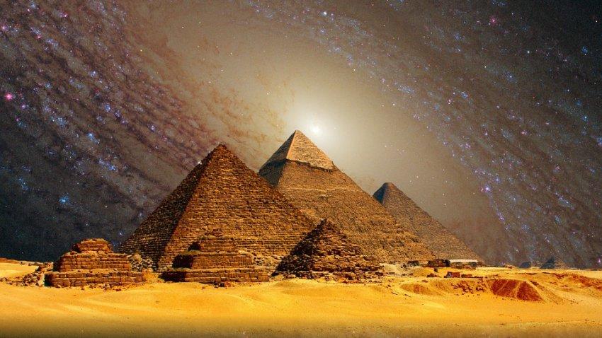 В пирамиде Хеопса обнаружили устройство для передачи сообщений
