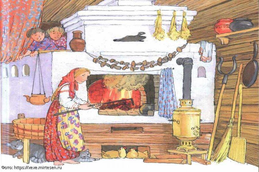 12 интересных фактов о русской печи