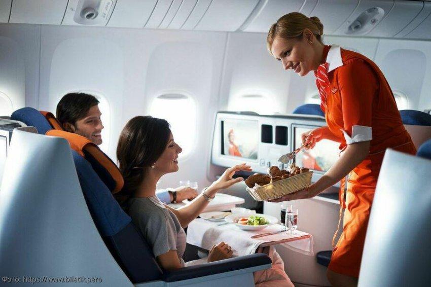 Вкусно как дома: ТОП-10 иностранных авиакомпаний с лучшей едой на борту