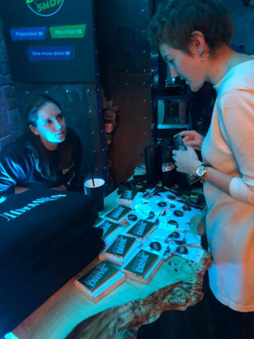 В Москве прошла вечеринка Mega Drive, посвященная Comic Con Russia