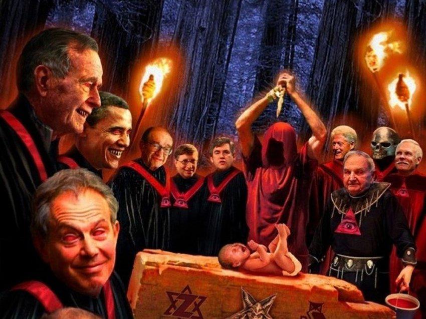 Голливудская элита - враг человечества, который пьёт кровь невинных детей