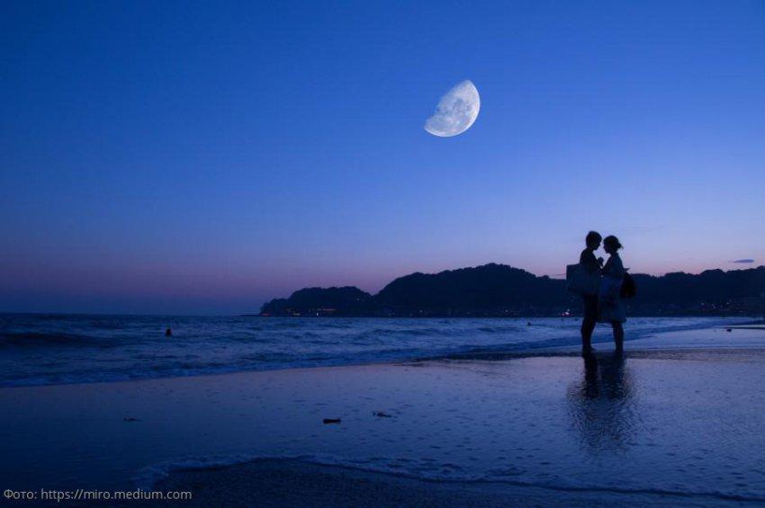 Лунный любовный прогноз с 10 по 16 октября