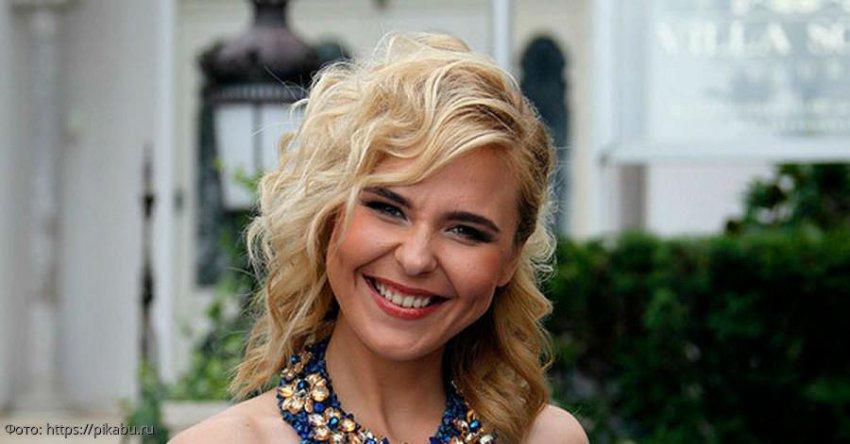 Пелагея стала звездой КВН, явившись на полуфинал в алом платье с голыми плечами