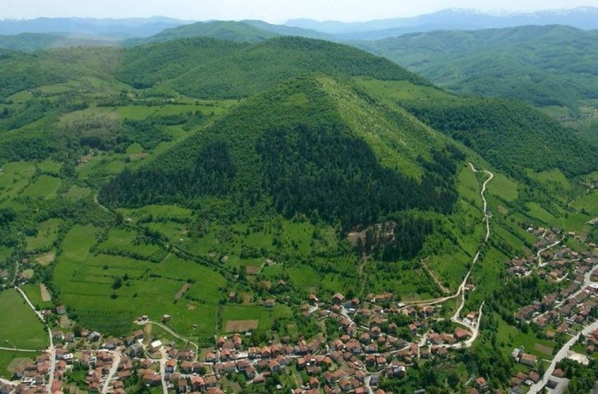 Боснийские пирамиды с секретом. Подземные укрепления