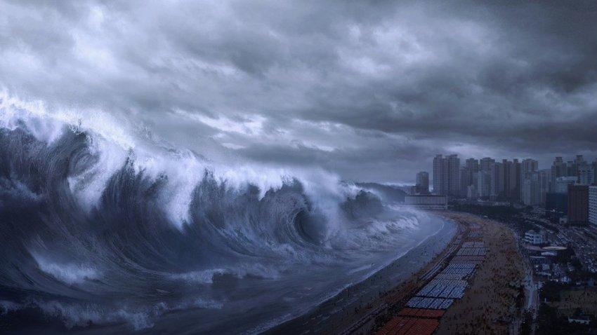 Ученый предупреждает: прибрежные города смоет волна цунами, которая образуется после падения астероида