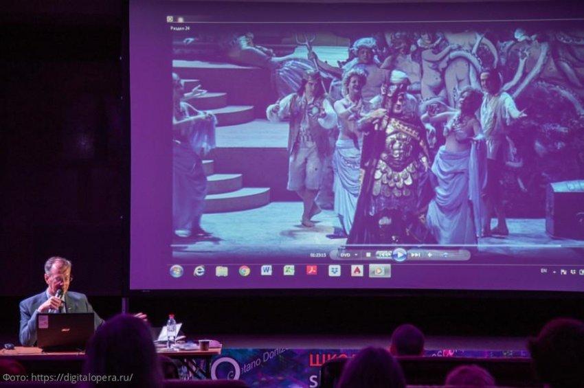 Оперу в реальном и виртуальном мире показывают в Санкт-Петербурге
