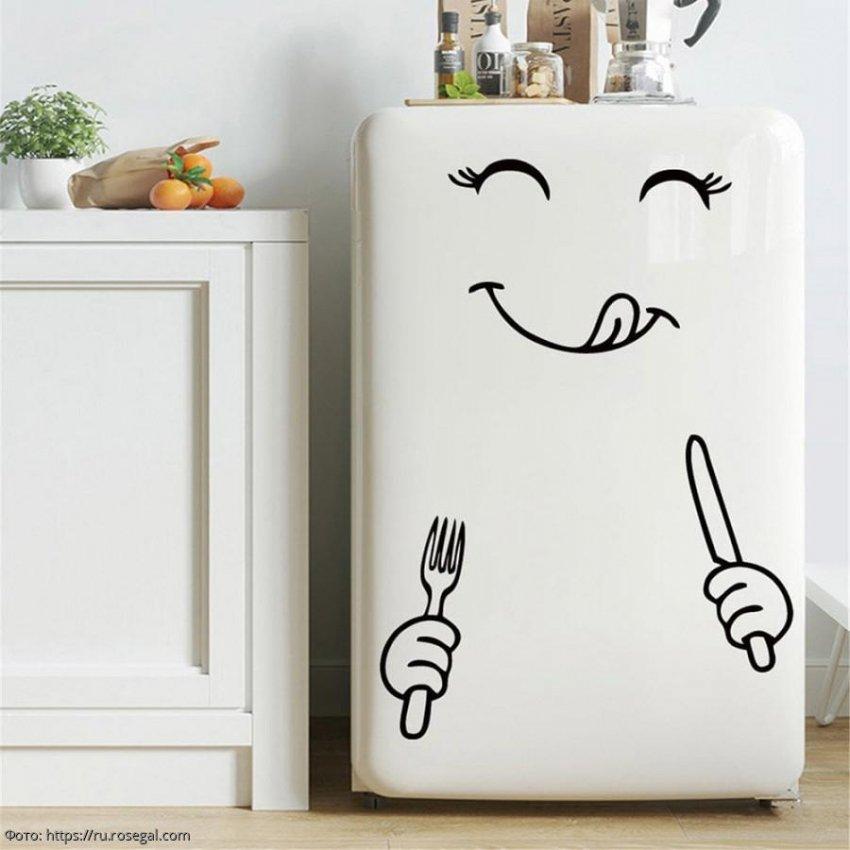 Альтернатива магнитам, или Как можно украсить холодильник
