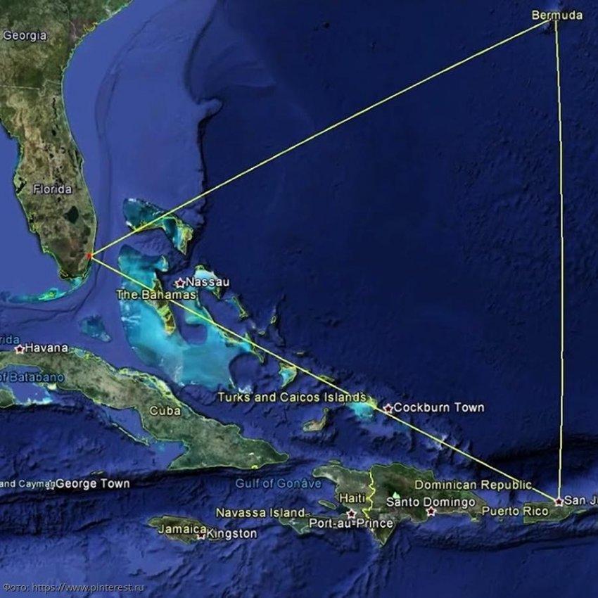 Самые интересные факты про Бермудский треугольник