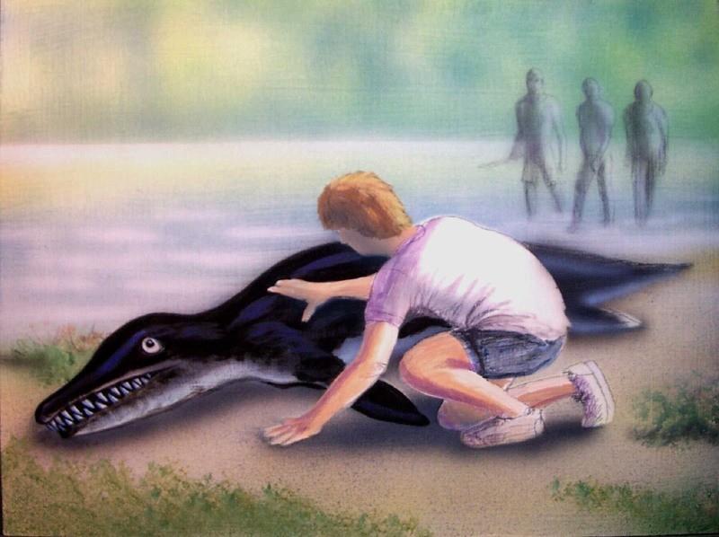 Загадка зубастого морского ящера из Гамбии