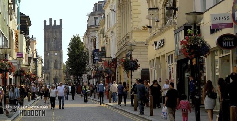 На улице Болд Стрит в Ливерпуле находится портал во времени