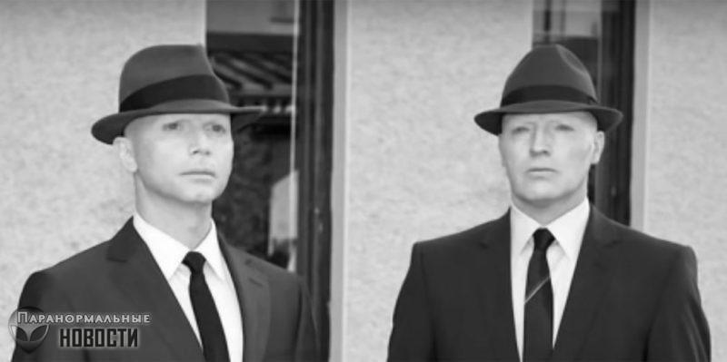 Загадочные Люди в Черном это оживленные мертвецы?
