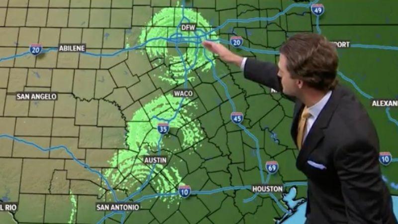 Метеорадары США зафиксировали над Техасом три огромных НЛО