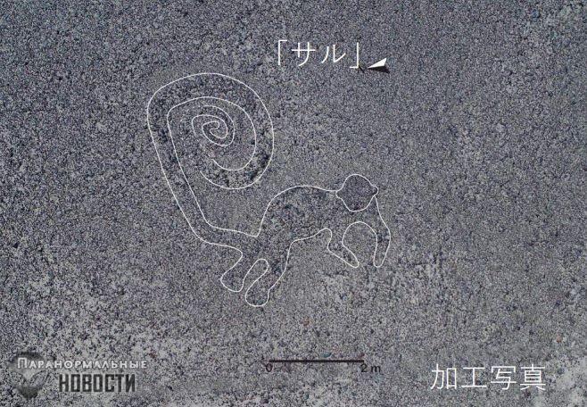 В пустыне Наска нашли более 140 новых рисунков, в том числе с существом, похожим на динозавра