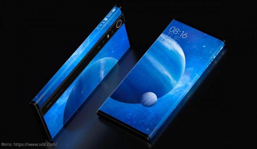 Xiaomi презентовала полностью безрамочный смартфон Mi Mix Alpha