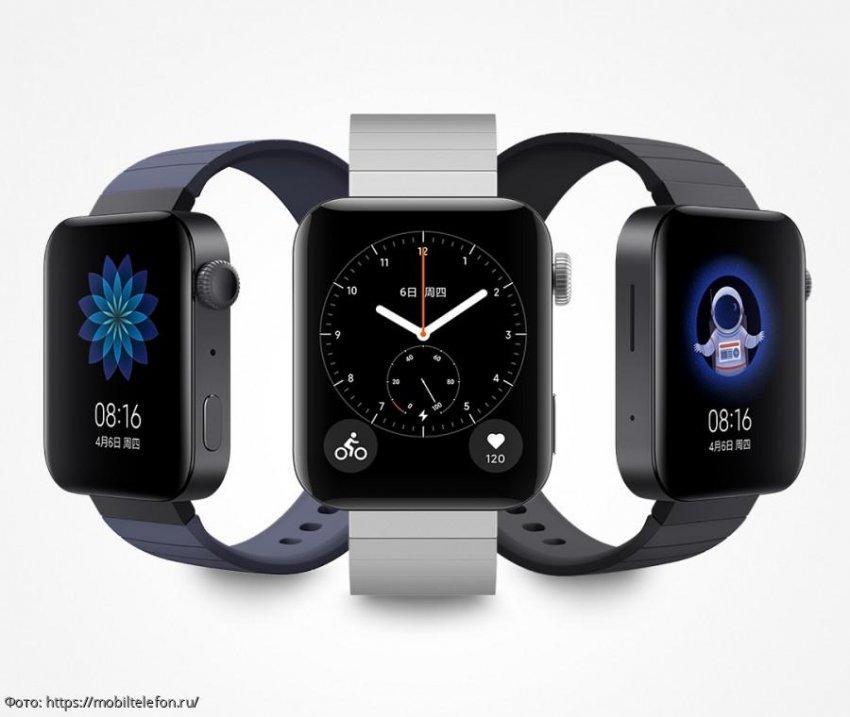 «Эпловский» дизайн по доступной цене: Xiaomi презентовала новинку Mi Watch