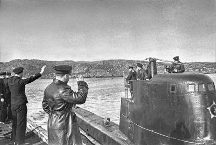 Обмен 17 подводных лодок СССР на сироп