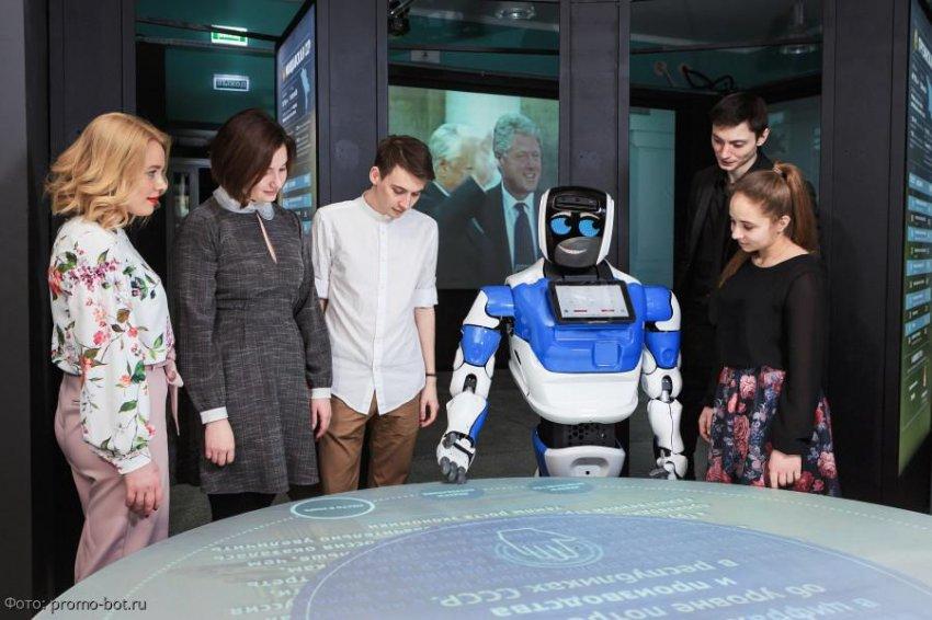 Сервисные роботы стали главным экспортным продуктом в России