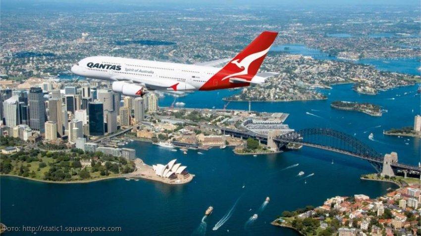 Австралийская авиакомпания Qantas установила новый мировой рекорд по дальности полёта