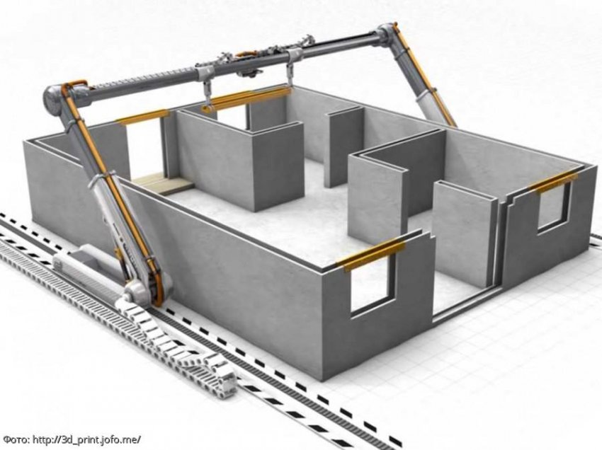 Китай впервые в мире построил двухэтажное здание при помощи 3D-печати