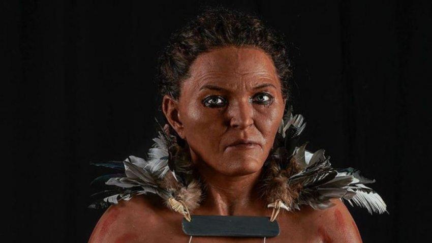 Ученые воссоздали внешний вид женщины-шамана, которая жила 7 тысяч лет назад