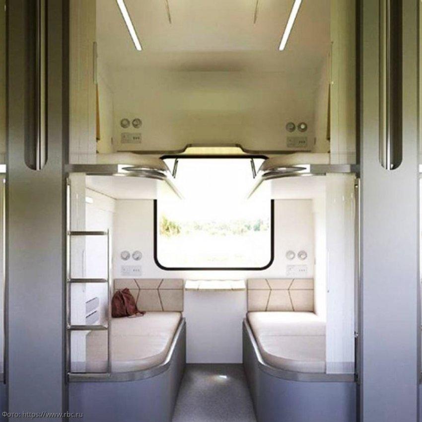 На выставке «Транспортная неделя» РЖД прошла презентация прототипа нового плацкартного вагона