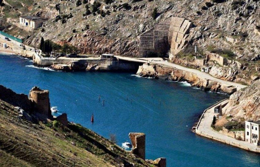 Секретная база подводных лодок в Балаклаве под землёй