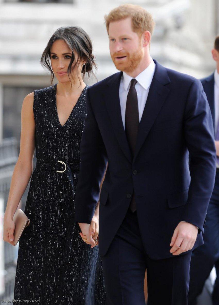 Меган Маркл и Принц Гарри ожидают пополнения в семье