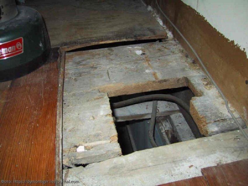 Девушка нашла сейф под полом в доме, в котором прожила 30 лет
