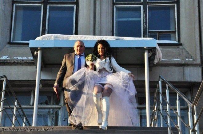 Вульгарный эротизм: как свадебные фото стирают грани приличия