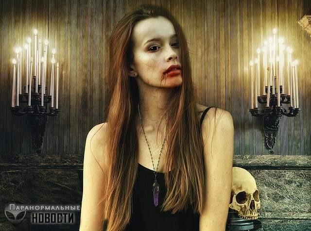 В США насчитали 5 тысяч настоящих вампиров, которые пьют кровь людей или животных